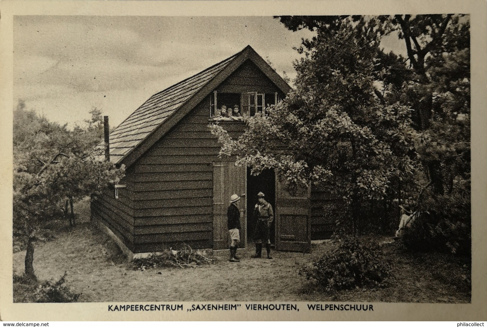 Vierhouten // Kampeercentrum Saxenheim / Welpenschuur - Scouting - Scout 195? - Nederland