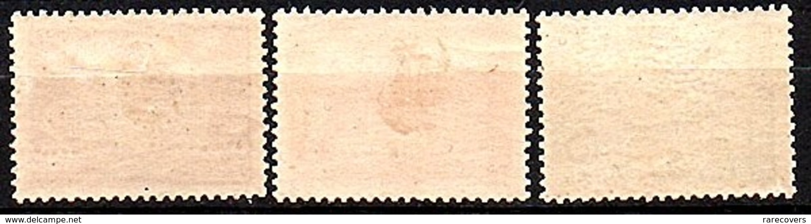 1943 Japanese Occupation Java Reopening Of The Post Offices 3 Stamps VF MH (231) - Nederlands-Indië