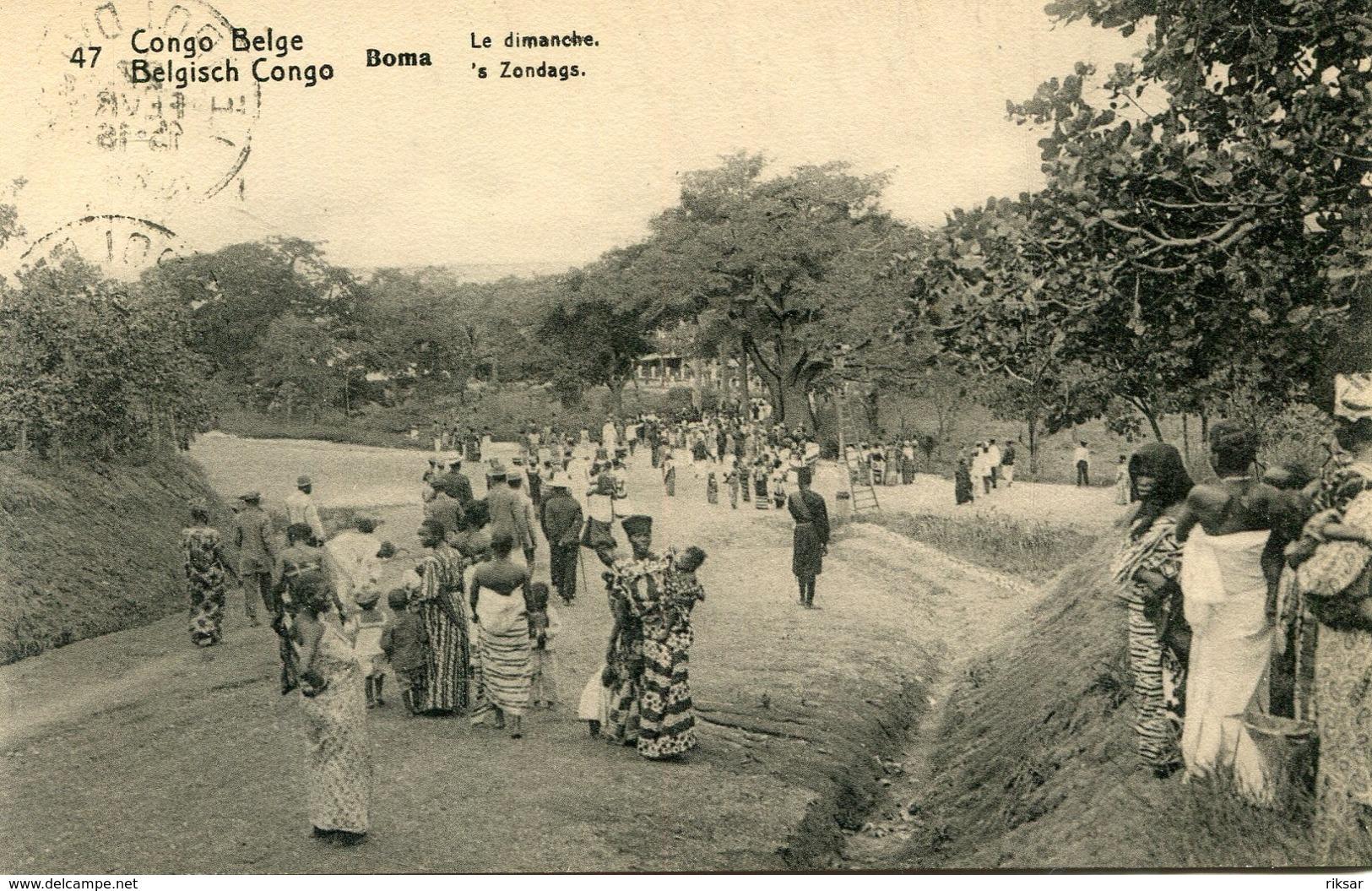 CONGO BELGE(BOMA) - Congo Belga - Otros