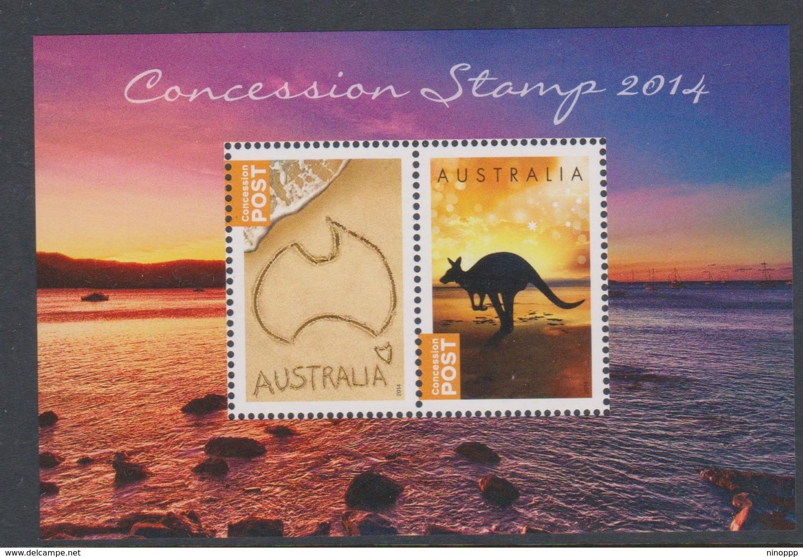 Australia ASC 3181MS 2014 Concessional Stamp Iniature Sheet,mint Never Hinged - 2010-... Elizabeth II