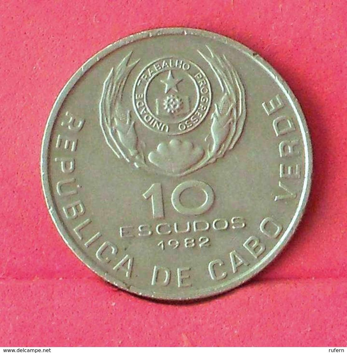 CAPE VERDE 10 ESCUDOS 1982 -    KM# 19 - (Nº27543) - Cap Vert