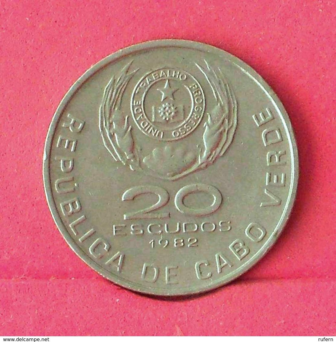 CAPE VERDE 20 ESCUDOS 1982 -    KM# 20 - (Nº27545) - Cap Vert
