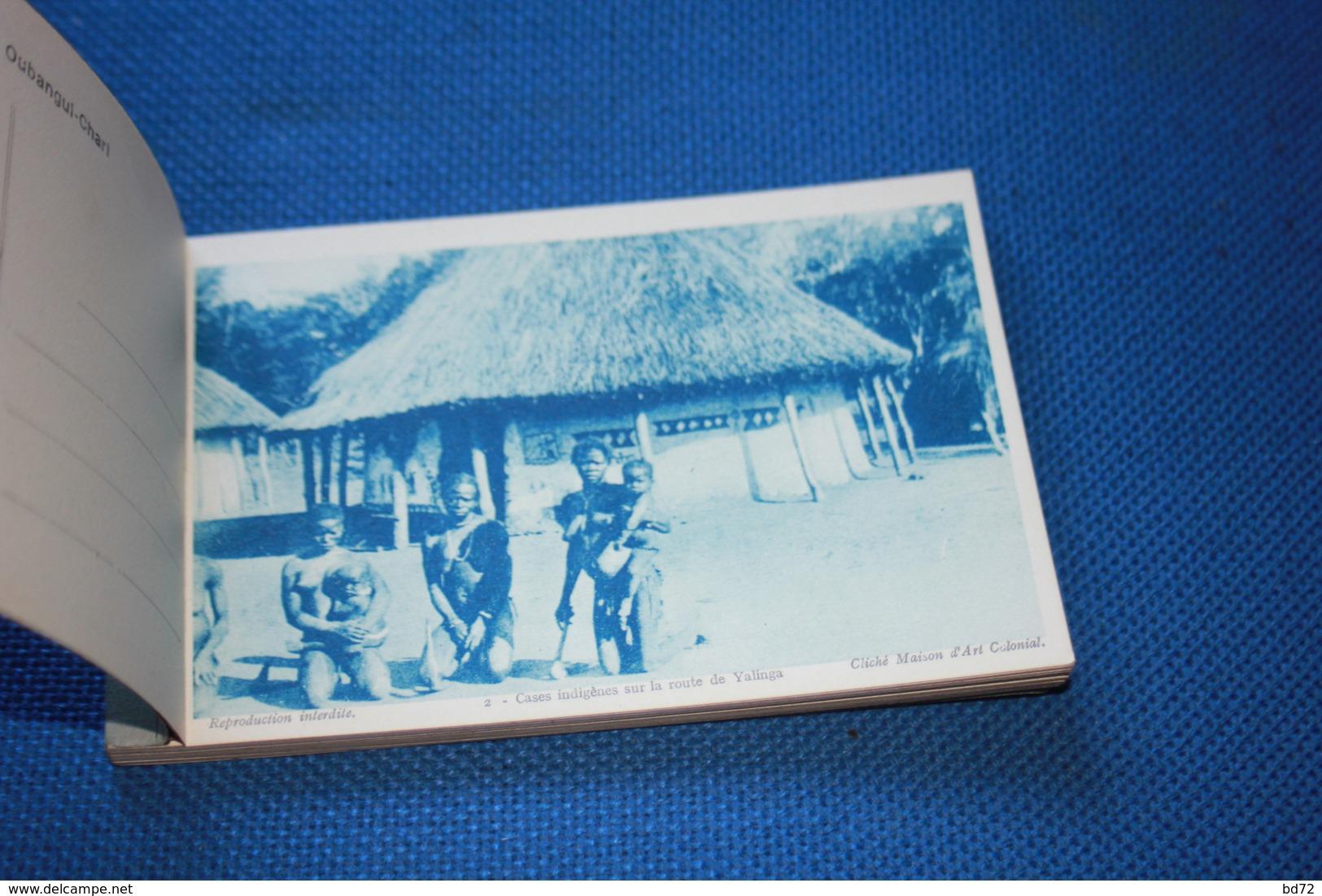 OUBANGUI-CHARI  - Carnet Complet De 20 Cartes - Centrafricaine (République)