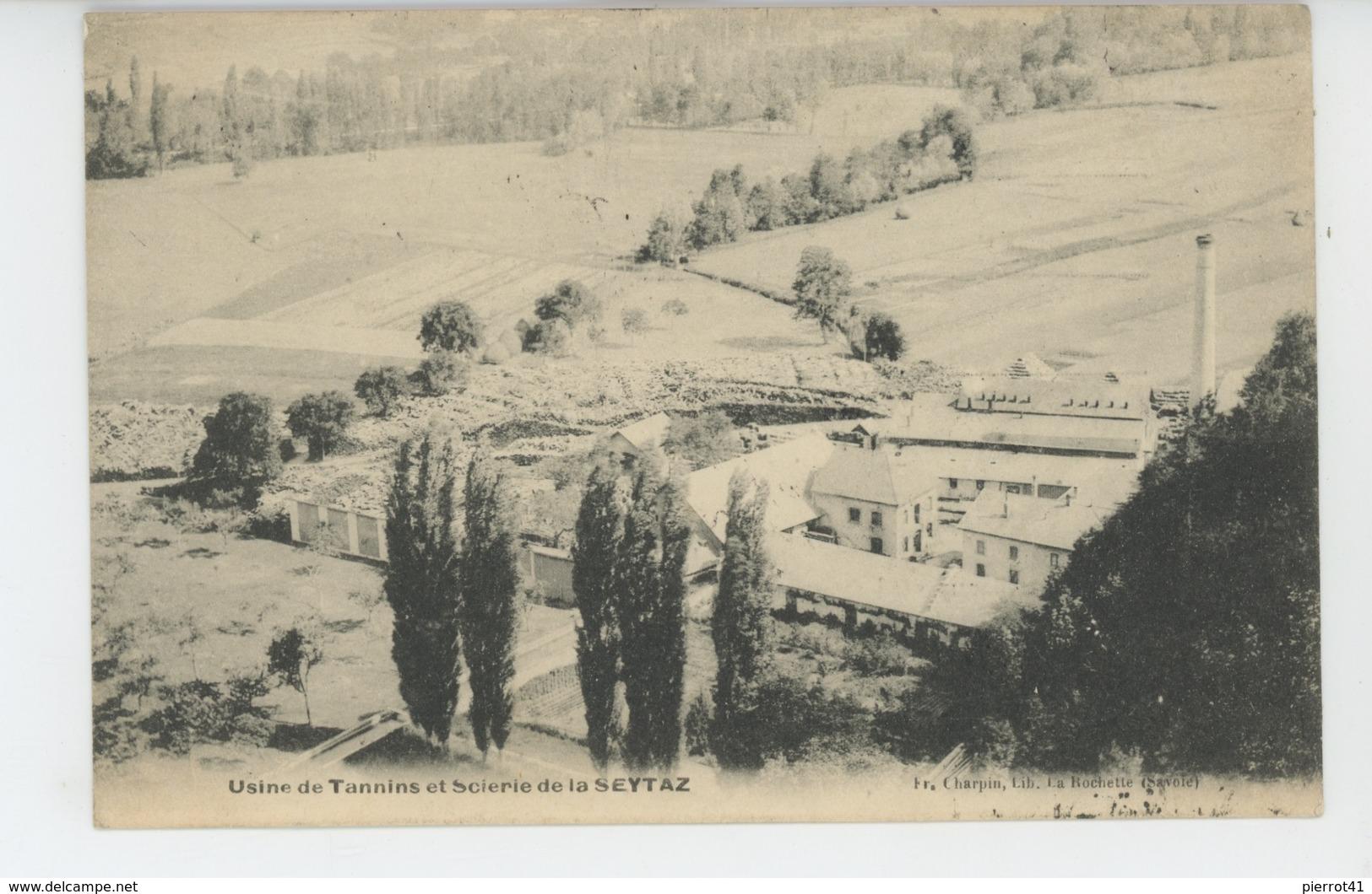 Usine De TANNINS Et Scierie De La SEYTAZ - France