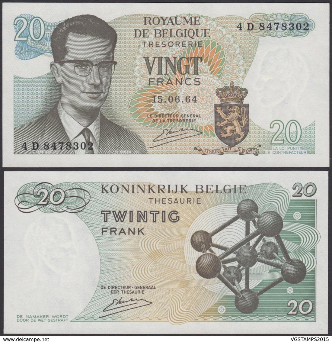 Billet De 20 Francs 15/06/64 - Neuf ( FDC) (DD) DC1996 - Sonstige