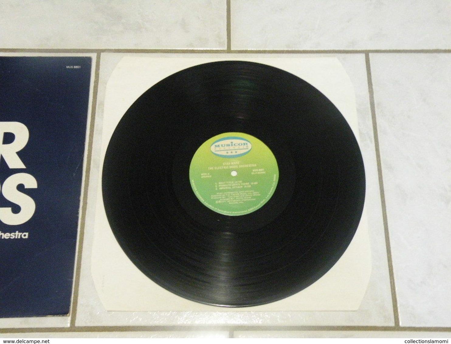 Star Wars -(Titres Sur Photos)- Vinyle 33 T LP Album US 1977 The Electric Moog Orchestra - Soundtracks, Film Music