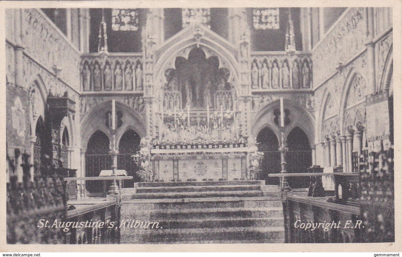 KILBURN - ST AUGUSTINES CHURCH INTERIOR - London Suburbs