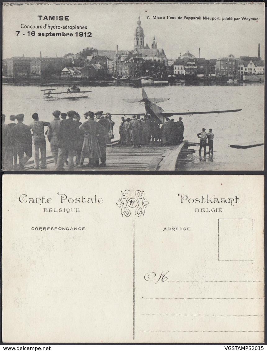 BELGIQUE CP DE TAMISE CONCOURS D HYDRO-AEROPLANES 1912 (DD) DC-2027 - Belgique