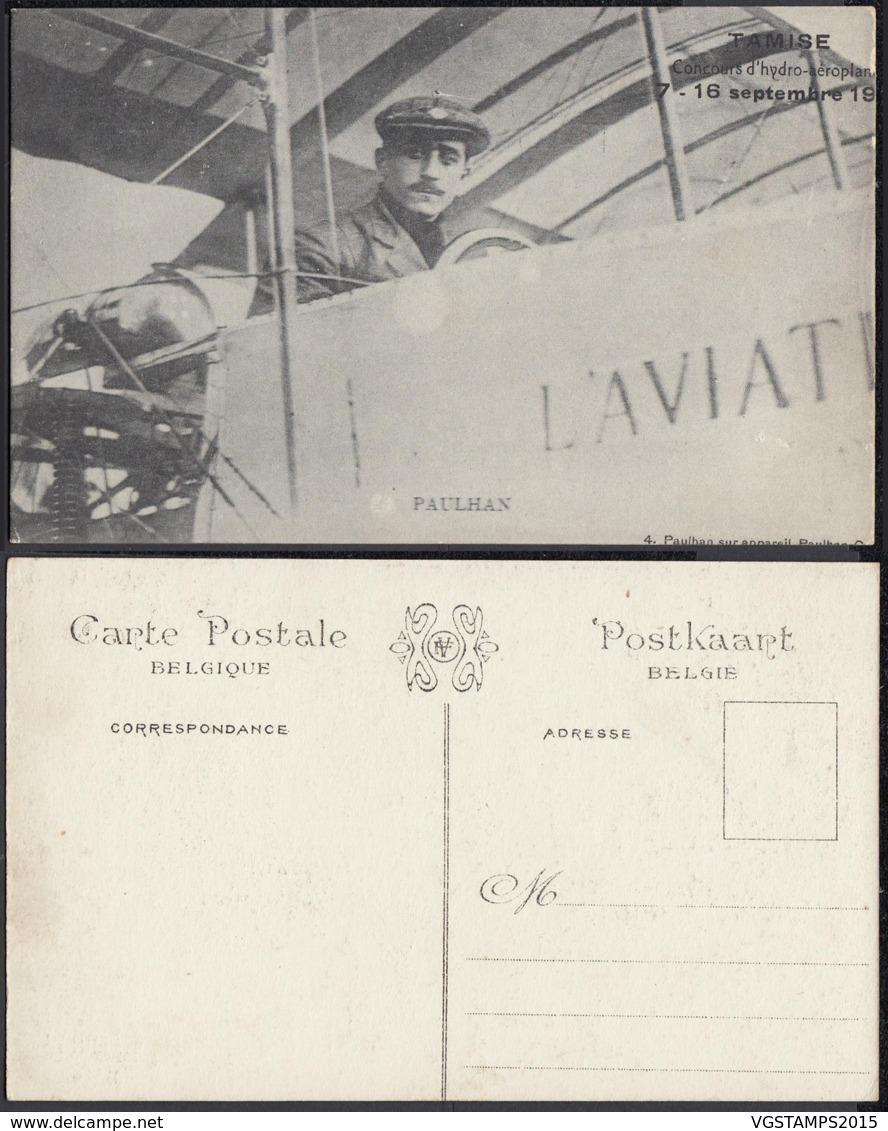 BELGIQUE CP DE TAMISE CONCOURS D HYDRO-AEROPLANES 1912 (DD) DC-2029 - Belgique