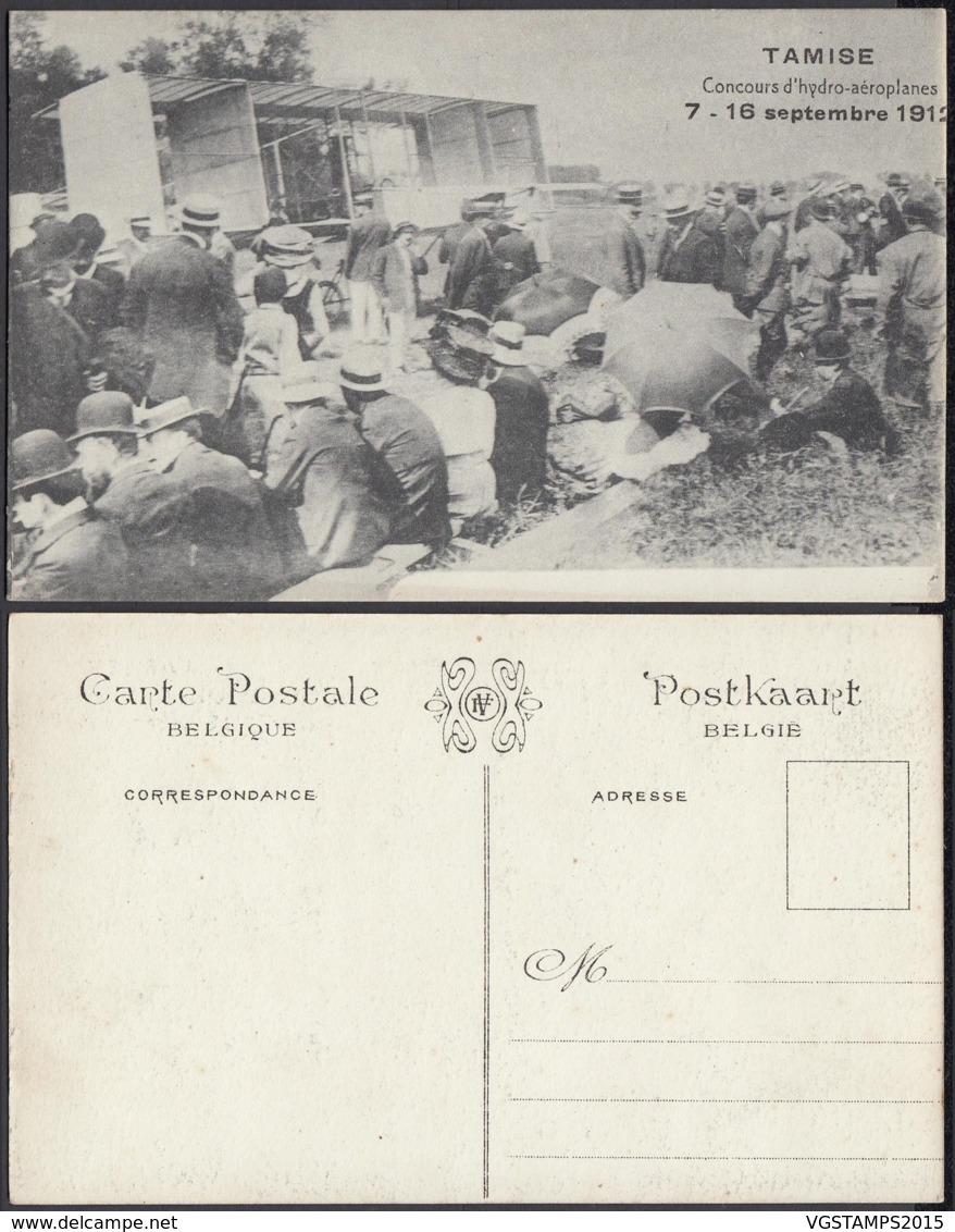 BELGIQUE CP DE TAMISE CONCOURS D HYDRO-AEROPLANES 1912 (DD) DC-2031 - Belgique