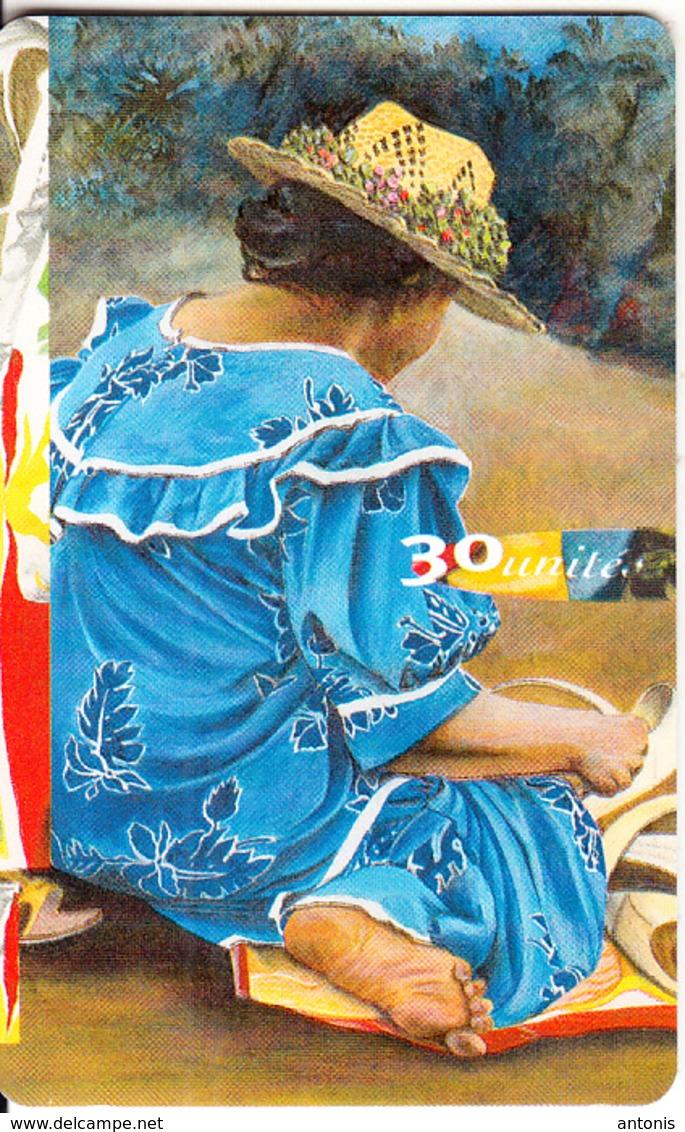 FRENCH POLYNESIA - Les Mamas 1, Chip GEM1.1, Tirage 20000, 03/98, Used - French Polynesia
