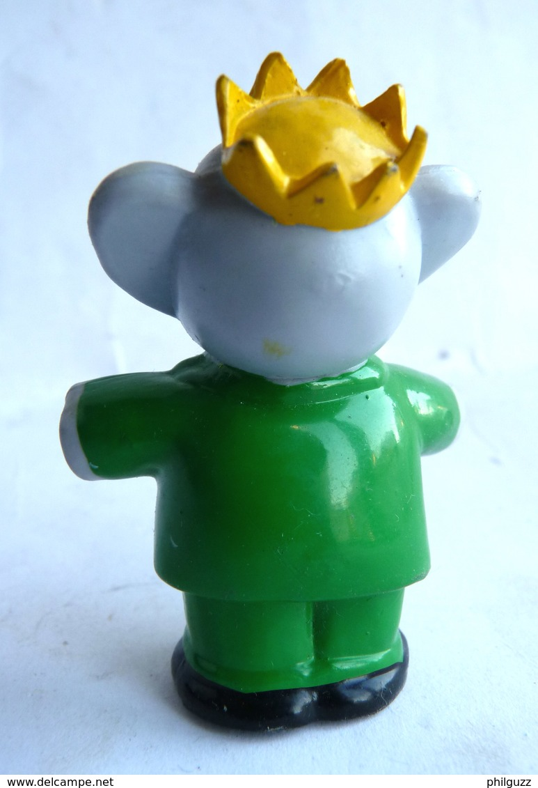 FIGURINE MARQUE INCONNUE BABAR  - DE BRUNHOFF BRAS ECARTES 1988 PVC - Figurines