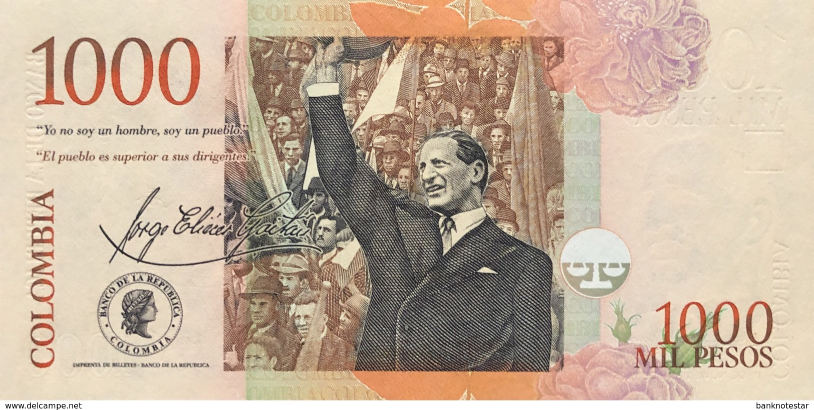 Colombia 1.000 Pesos, P-456a (1.11.2005) - UNC - Colombie