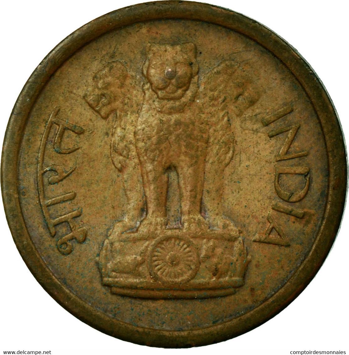 Monnaie, INDIA-REPUBLIC, Naya Paisa, 1957, TTB, Bronze, KM:8 - Inde