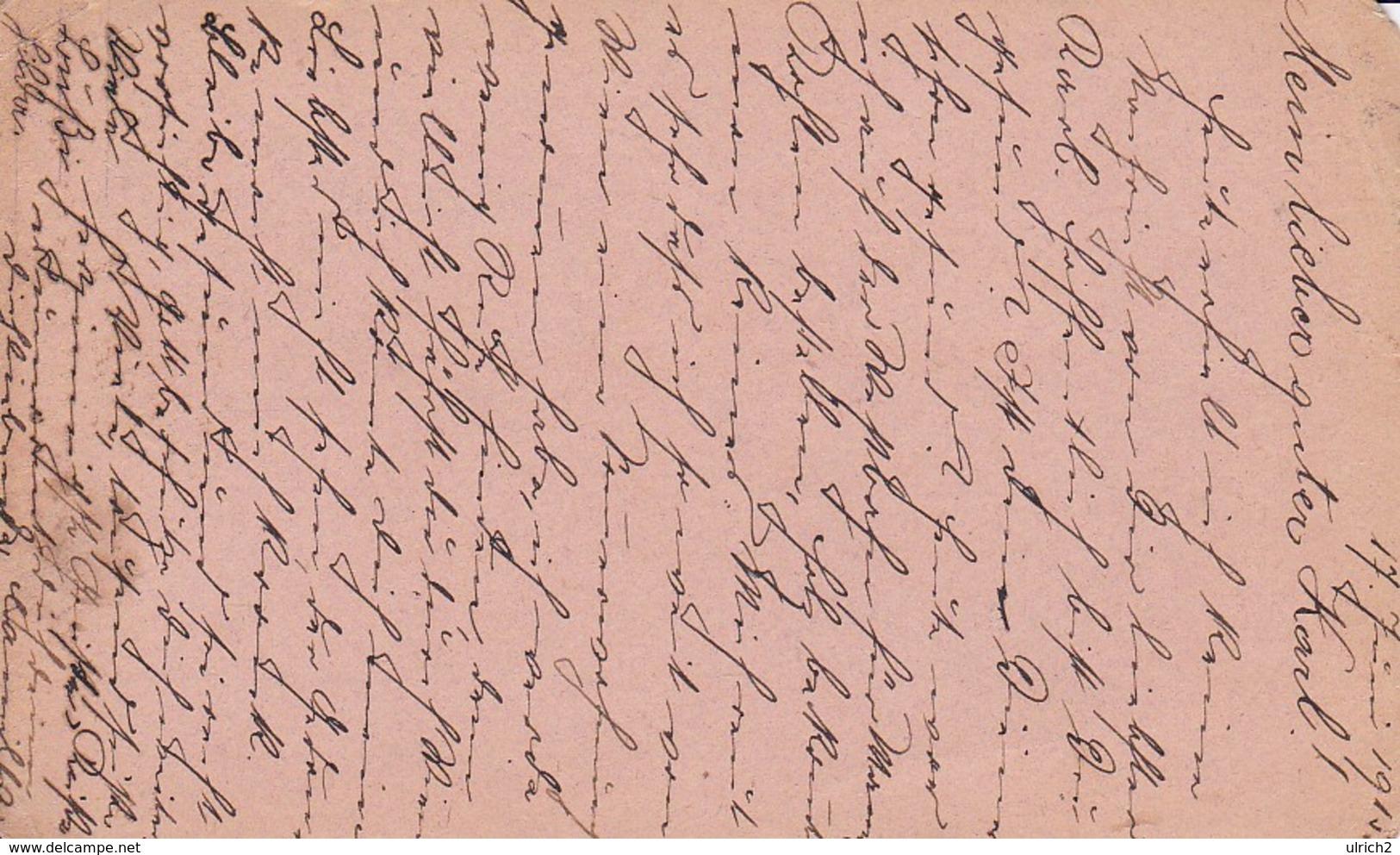 Feldpostkarte - Wien An Korpstraingruppen Kom. 3/19 - 1915 (39318) - Briefe U. Dokumente