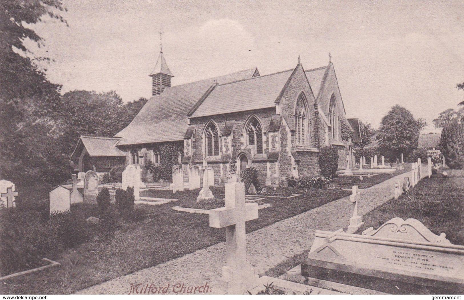 MILFORD CHURCH - Surrey