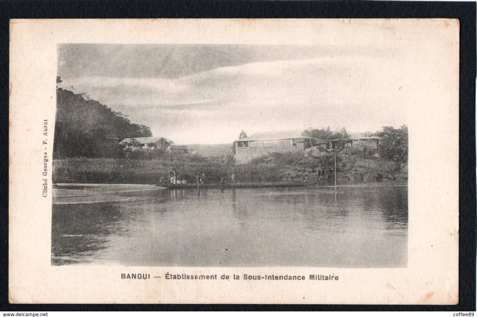 CENTRAFRIQUE - BANGUI - Etablissement De La Sous Intendance Militaire - Cliché Georges F. Aurat - Centrafricaine (République)