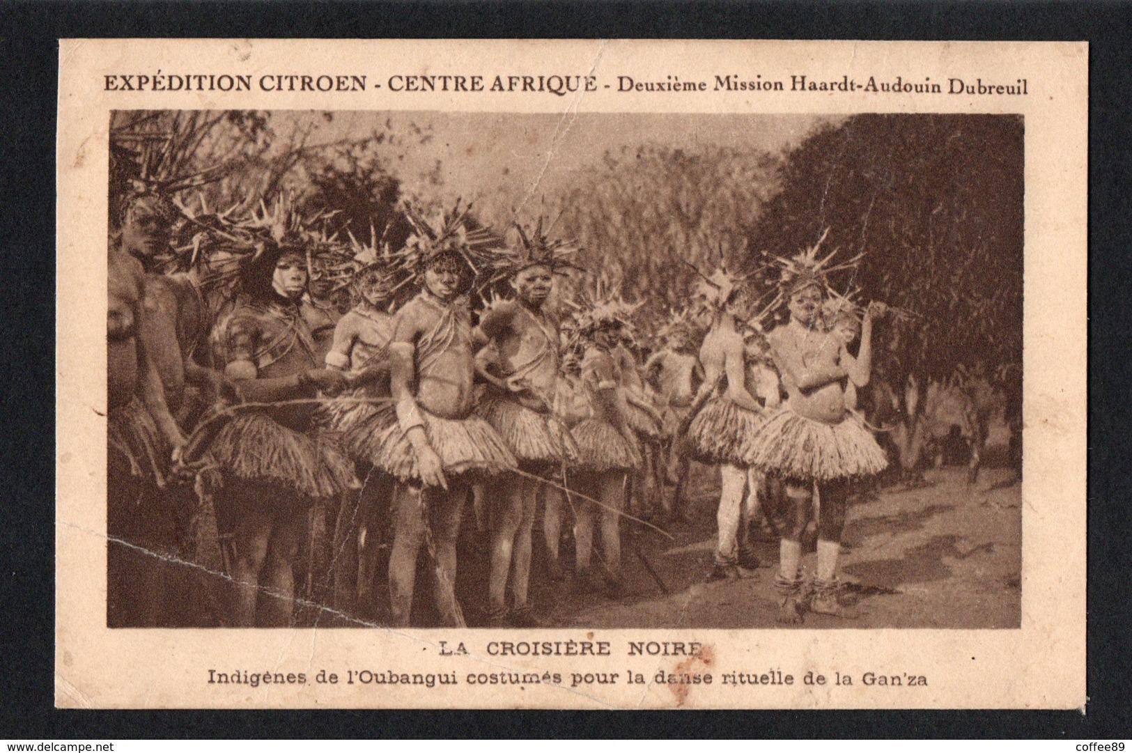 CENTRAFRIQUE - Expédition Citroen - La Croisière Noire - Centrafricaine (République)