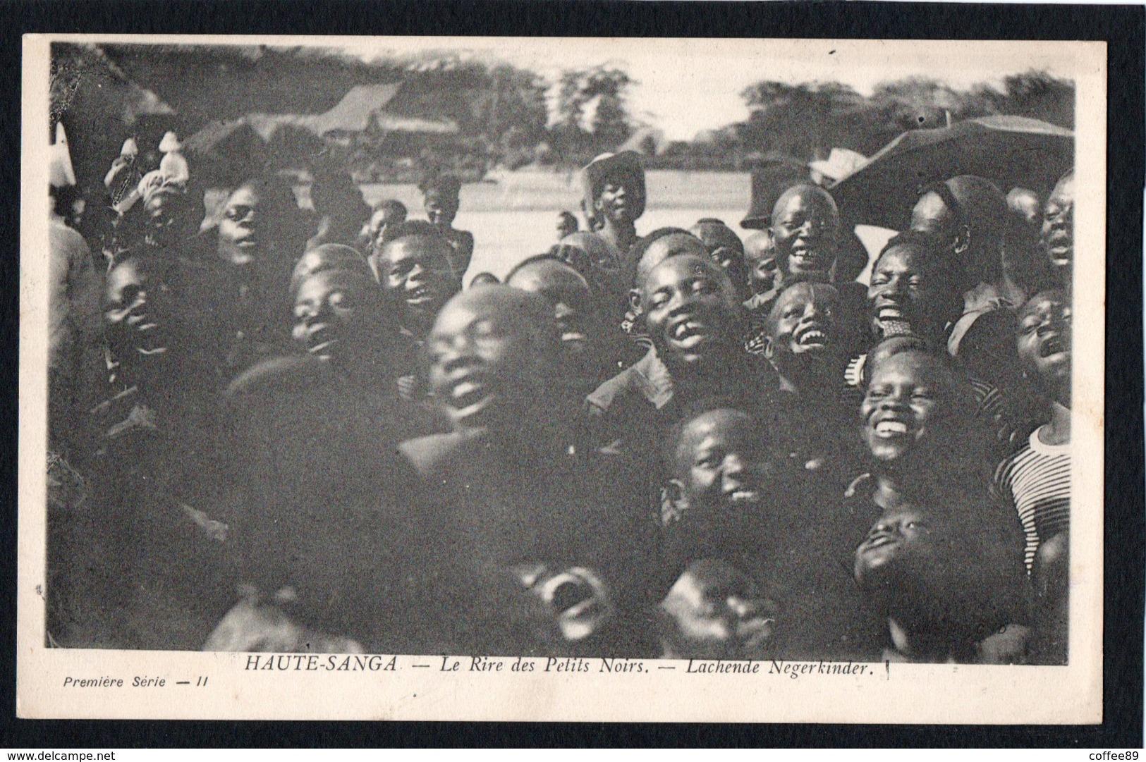 CENTRAFRIQUE - HAUTE SANGA - Le Rire Des Petits Noirs - Centrafricaine (République)