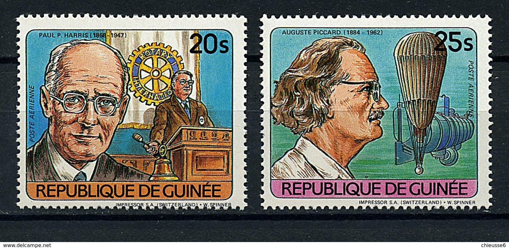 Guinée ** PA 164/165 - Personnages Célèbres - Guinea (1958-...)