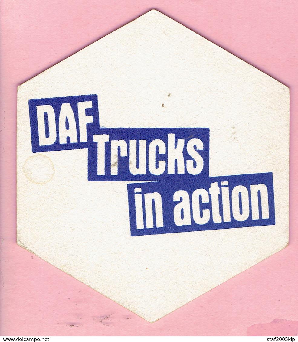 Bierviltjes - DAF Trucks In Action - Sous-bocks