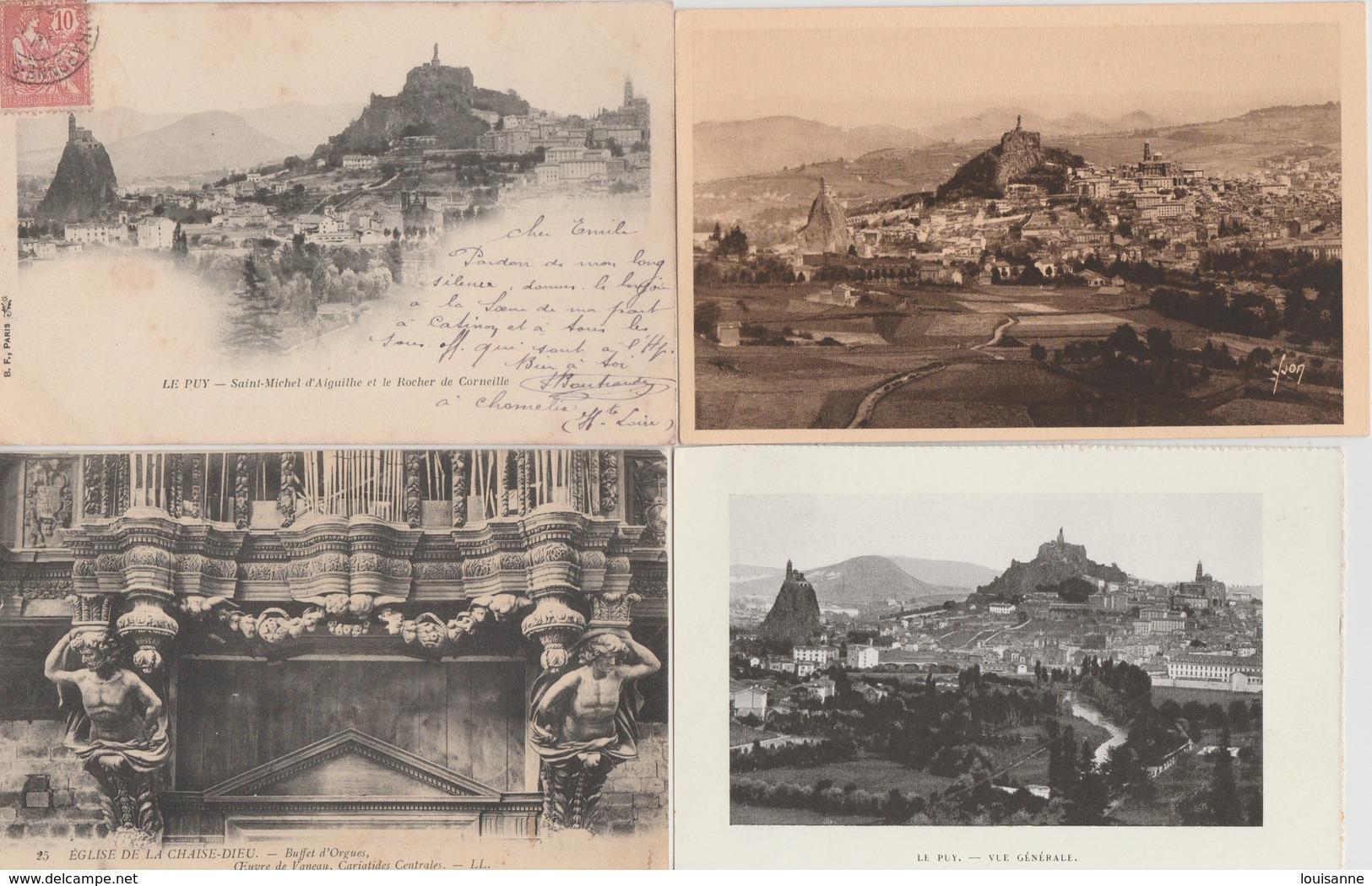 19 /2/ 107  -  500  CPA  /  CPSM   DU DEPT.  43  À  26€,50  +. PORT  8€,80  POUR  LA  FRANCE - Postcards