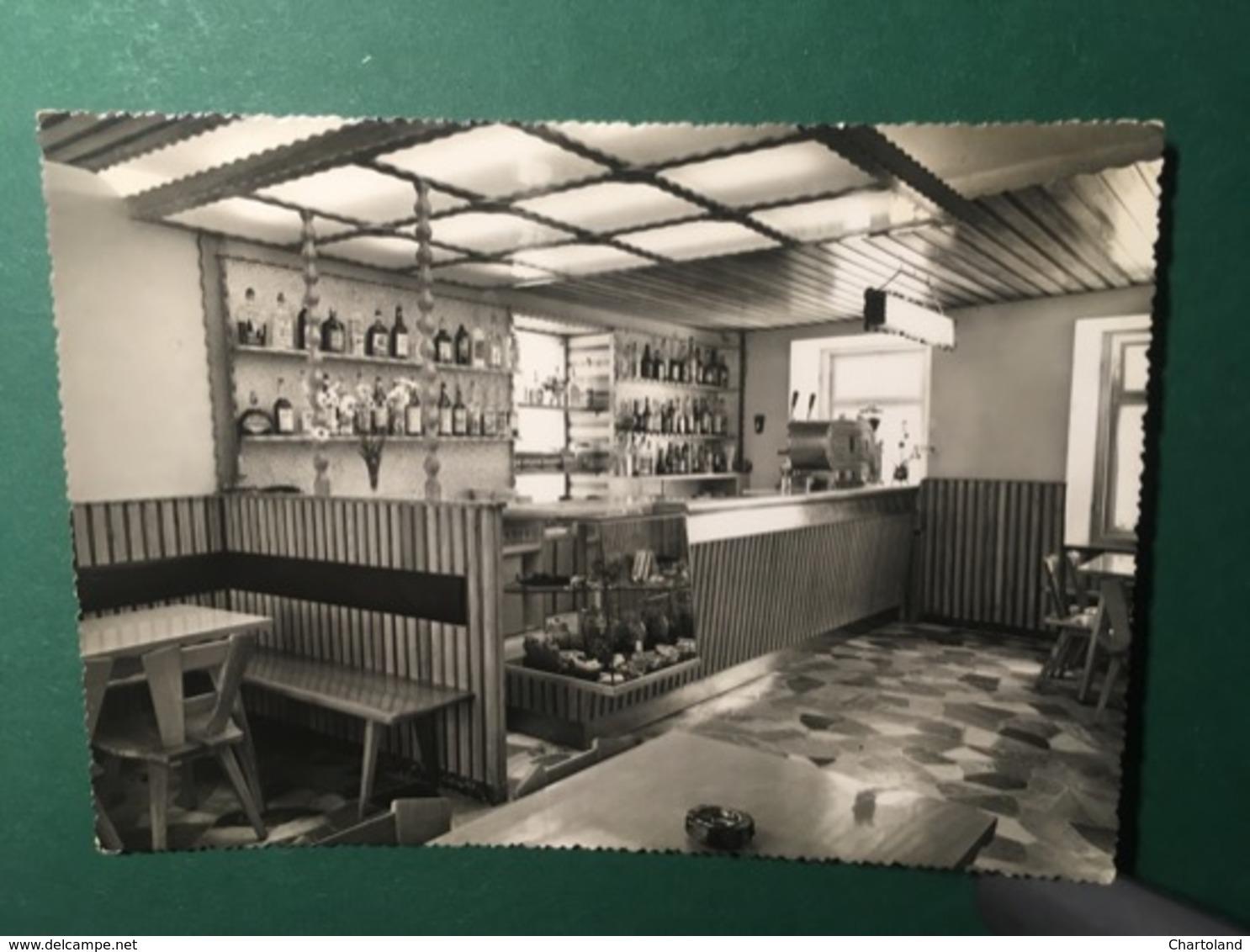 Cartolina Bar Albergo Al Sole - Sappada - 1958 - Belluno