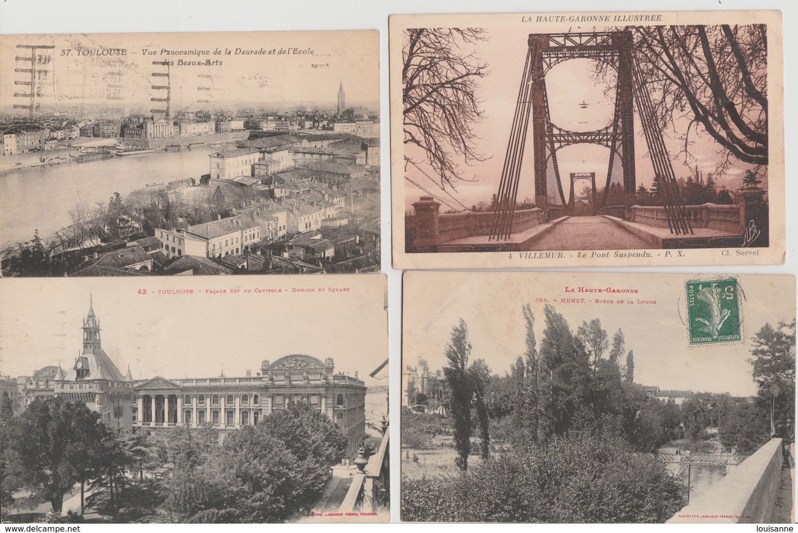 19 / 2 / 111  -  500  CPA / CPSM  DU. DEPT.  31  À  26€,50  +. PORT  ( 8€,80  POUR  LA  FRANCE ) - Cartes Postales