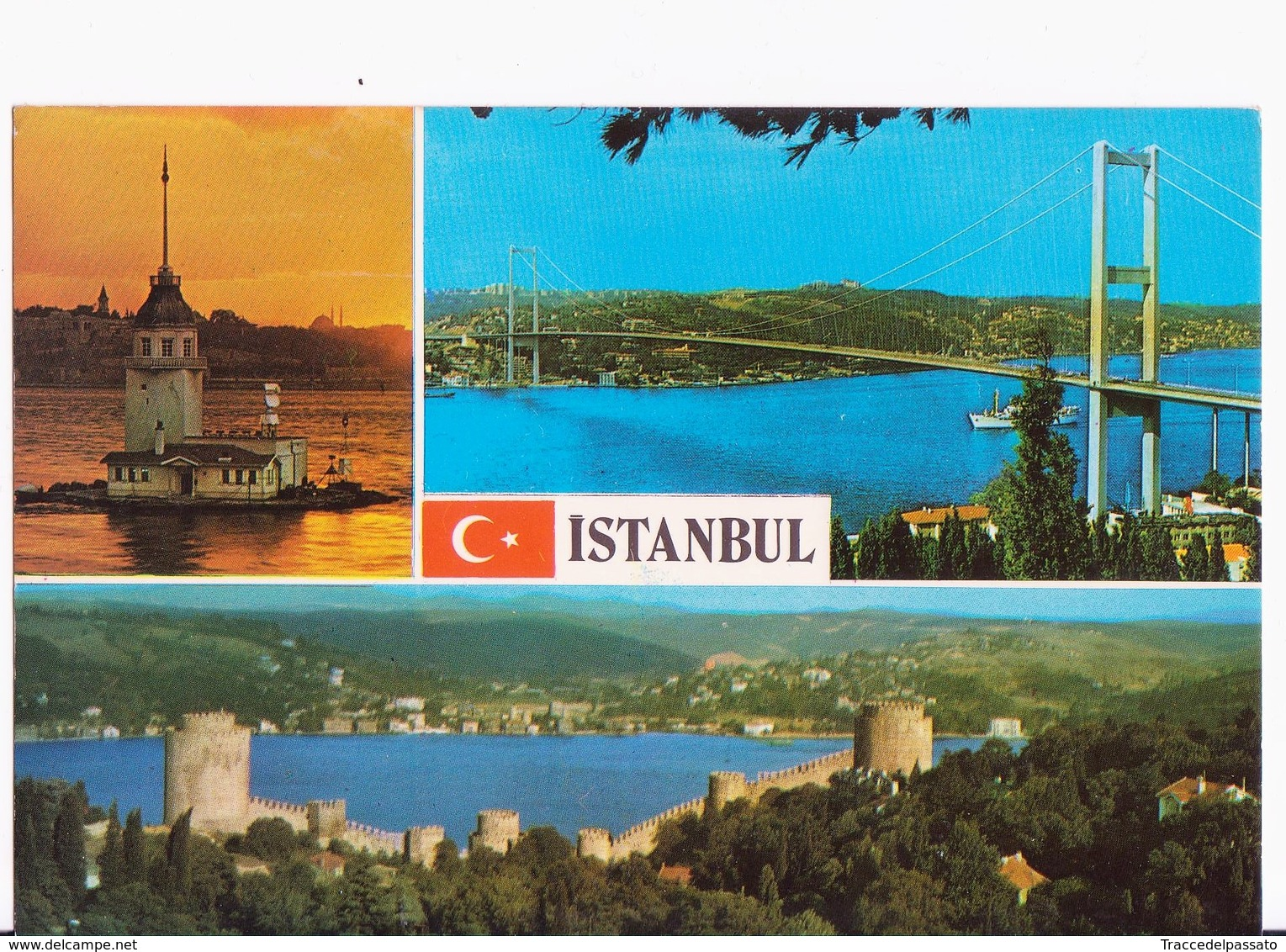 CARTOLINA TURCHIA ISTANBUL - VEDUTE - POSTCARD VIEWS ISTANBUL - 1970 - Turchia