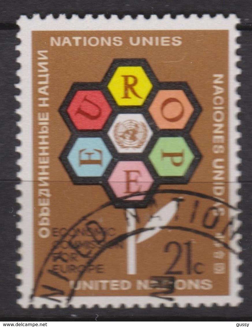 NATIONS UNIES (New York) 1972:  Commission Economique Pour L'Europe,  Oblitéré - New York -  VN Hauptquartier