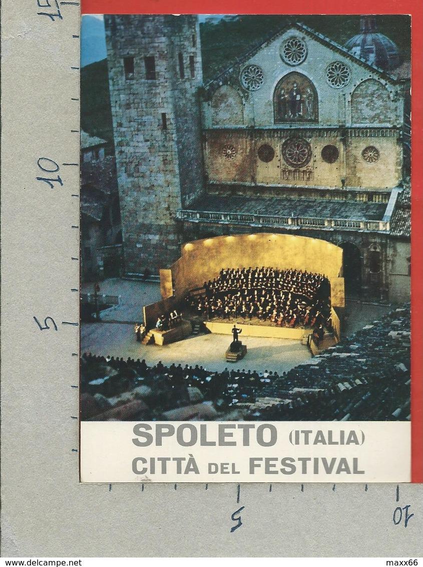 ITALIA - CARTOLINA DEDICATA - 1977 - SPOLETO (PG) Festival Dei Due Mondi - ANN. DEDICATO  COSI FAN TUTTE Al Melisso - Manifestazioni