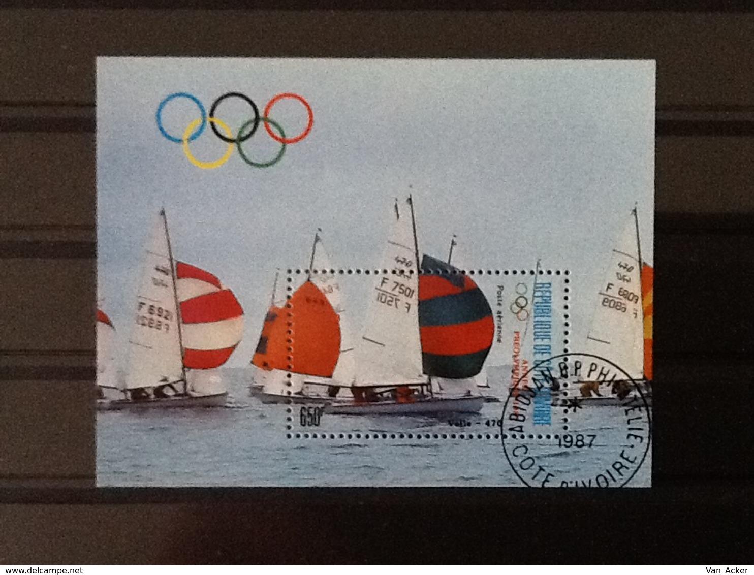 Cote D'Ivoir Pre Olympic Year 1987 - Côte D'Ivoire (1960-...)
