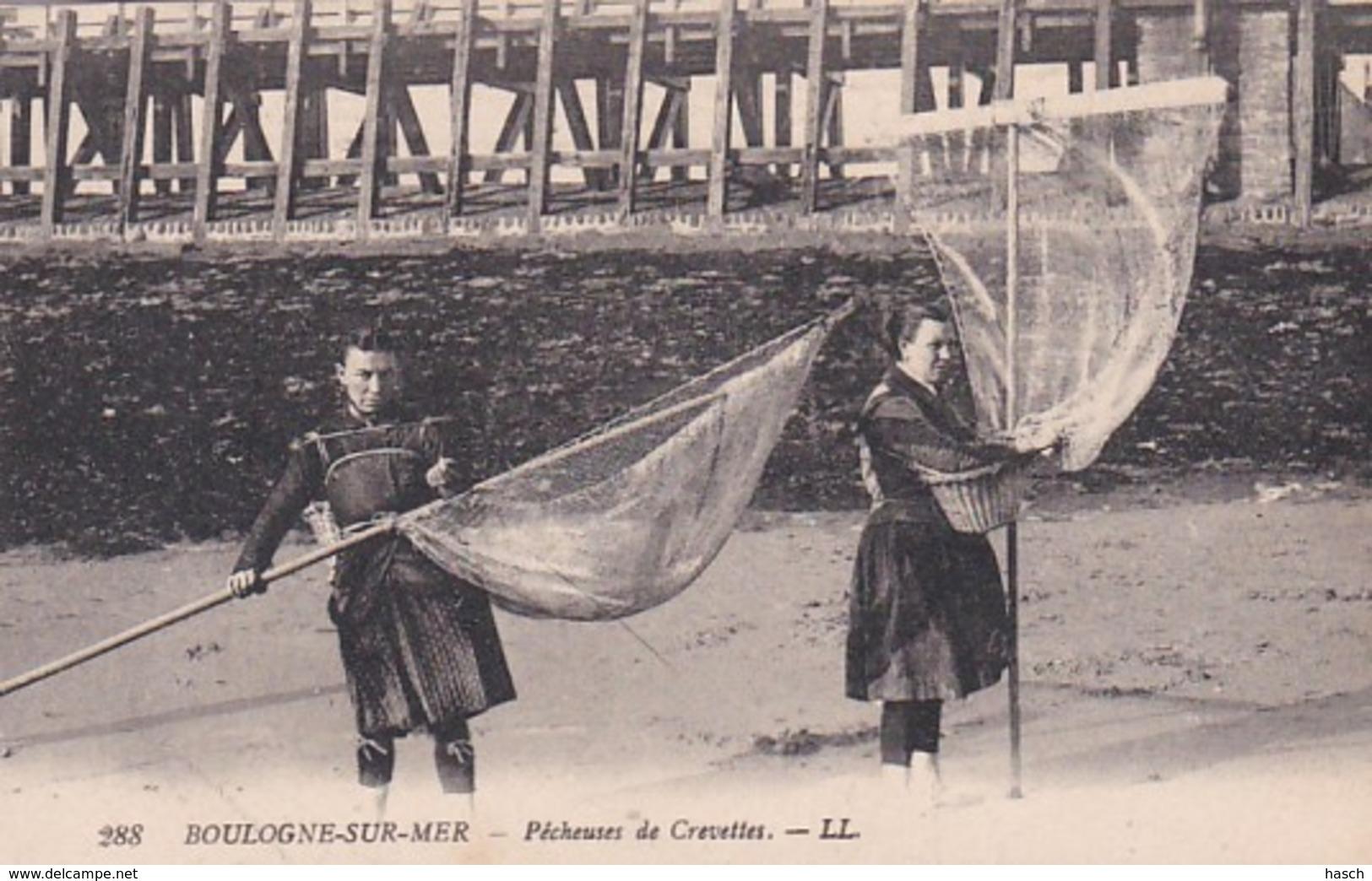 372542Boulogne Sur Mer, Pêcheuses De Crevettes - Boulogne Sur Mer