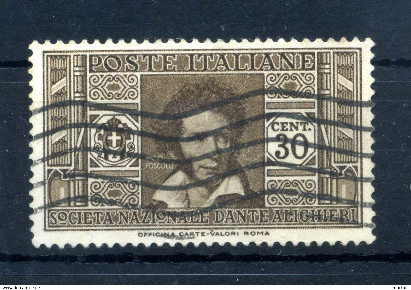 1932 REGNO N.307 USATO - 1900-44 Vittorio Emanuele III