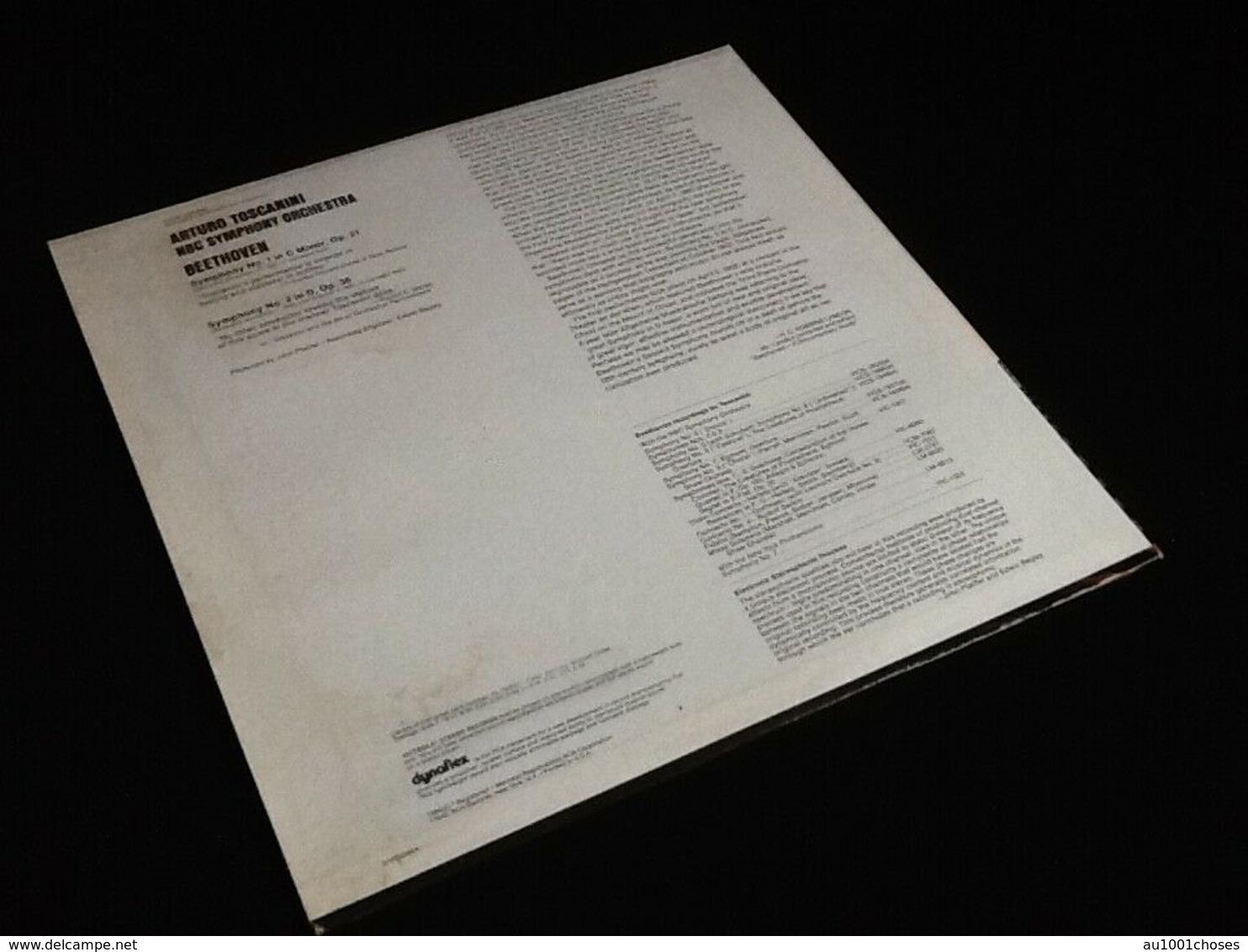 Vinyle 33 Tours  Beethoven  Symphonies N° 1 Et 2  (1972) - Klassiekers