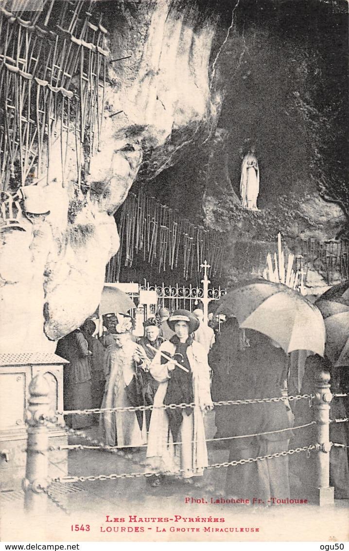 Lourdes (65) - Grotte Miraculeuse - Belle Animation - Lourdes
