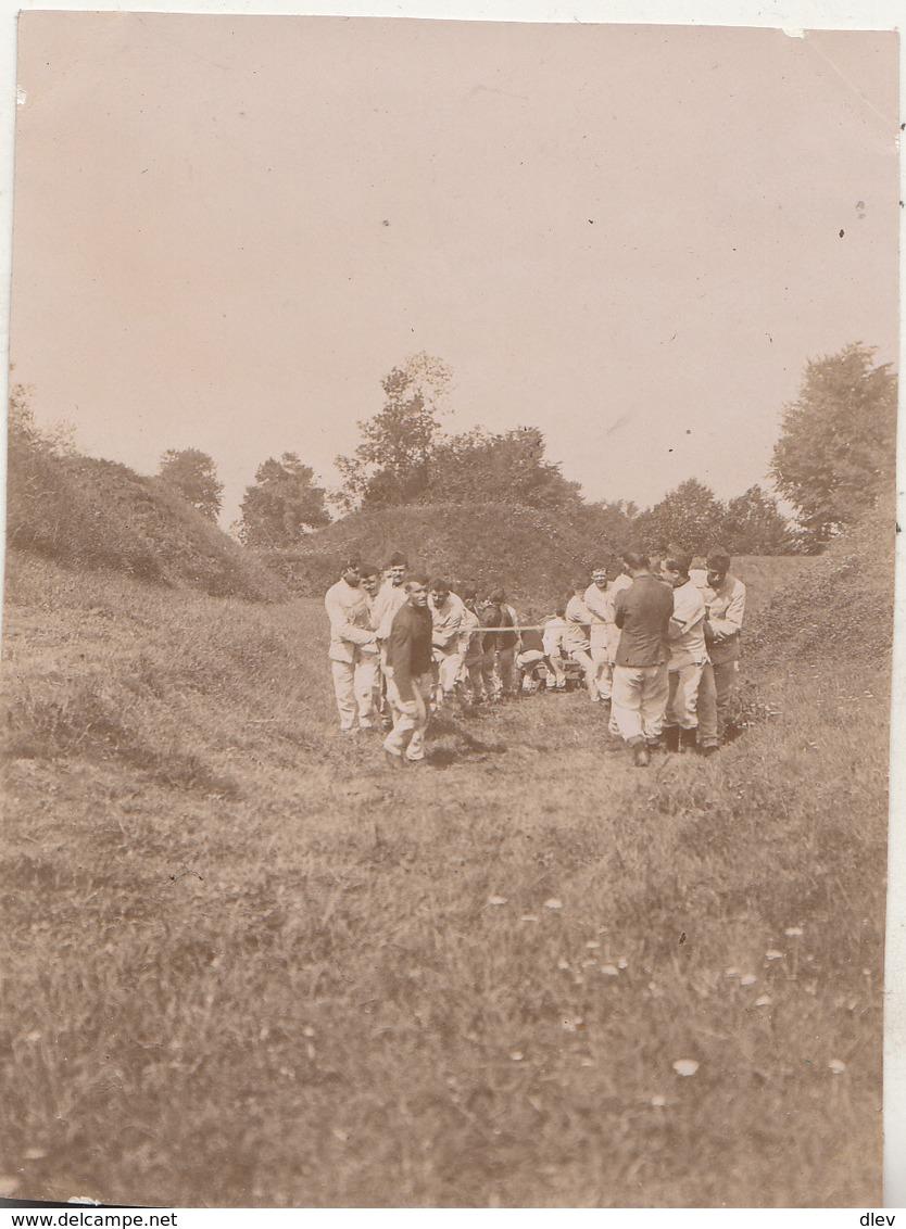 Manoeuvres Brasschaet - Foto Formaat 7.5 X 10.5 Cm - Guerre, Militaire