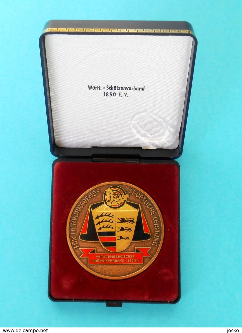 ARCHERY & SHOOTING Germany Medal Württembergischer Schützenverband 1850 EV Stuttgart, Deutschland * Tir à L'arc Tournage - Tiro Con L'Arco