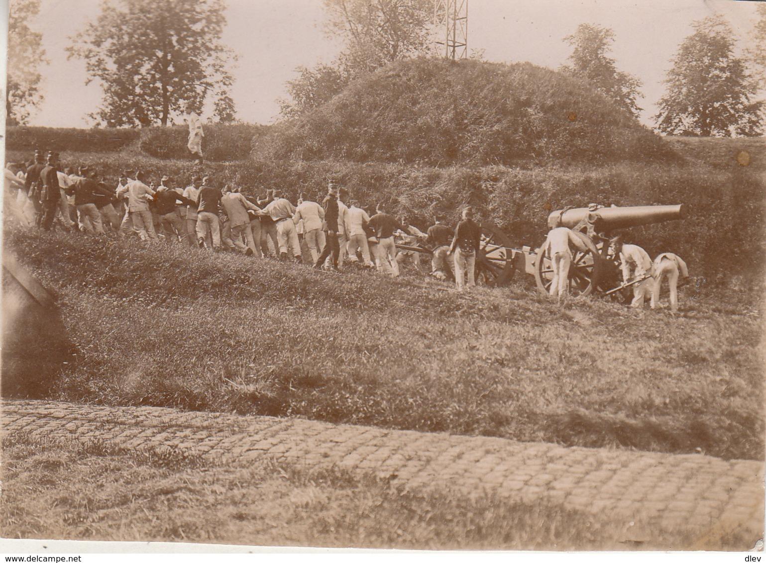 Manoeuvres Brasschaet - Foto Formaat 8 X 11 Cm - Guerre, Militaire