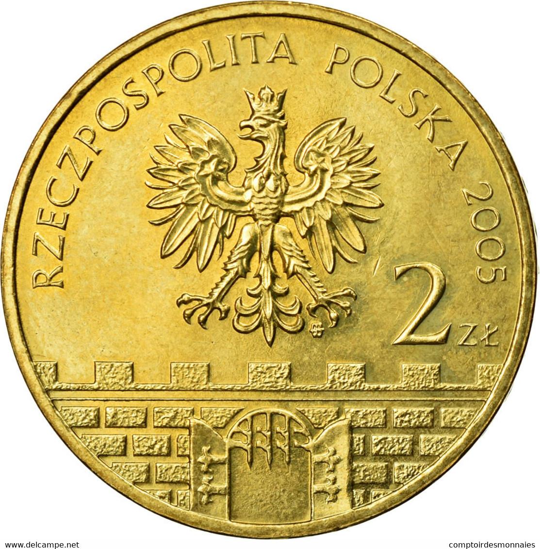 Monnaie, Pologne, 2 Zlote, 2004, TTB, Laiton, KM:564 - Pologne