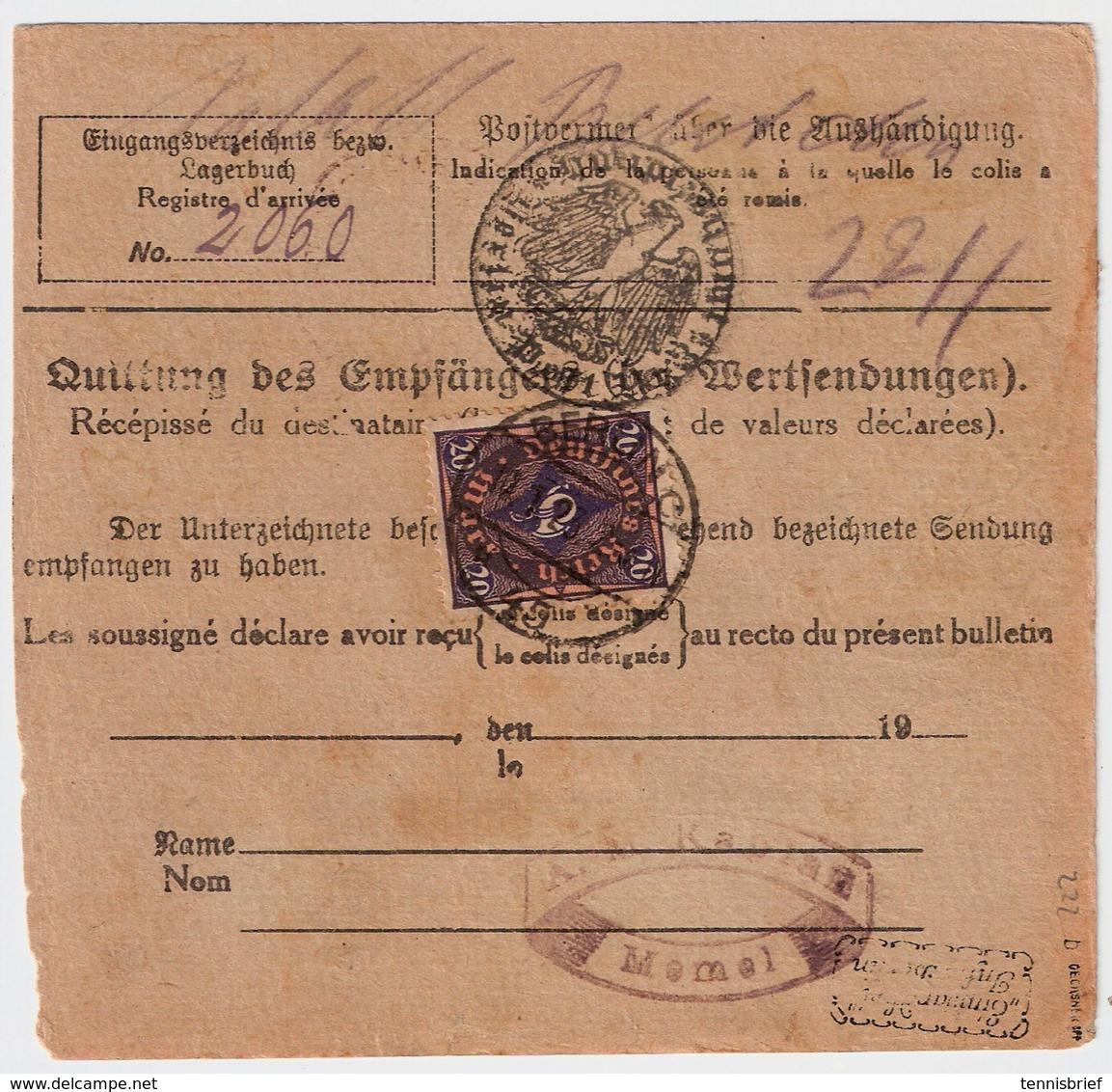DR, 1923, Nr. 222b, Mi. 250.-    , #a1938 - Briefe U. Dokumente