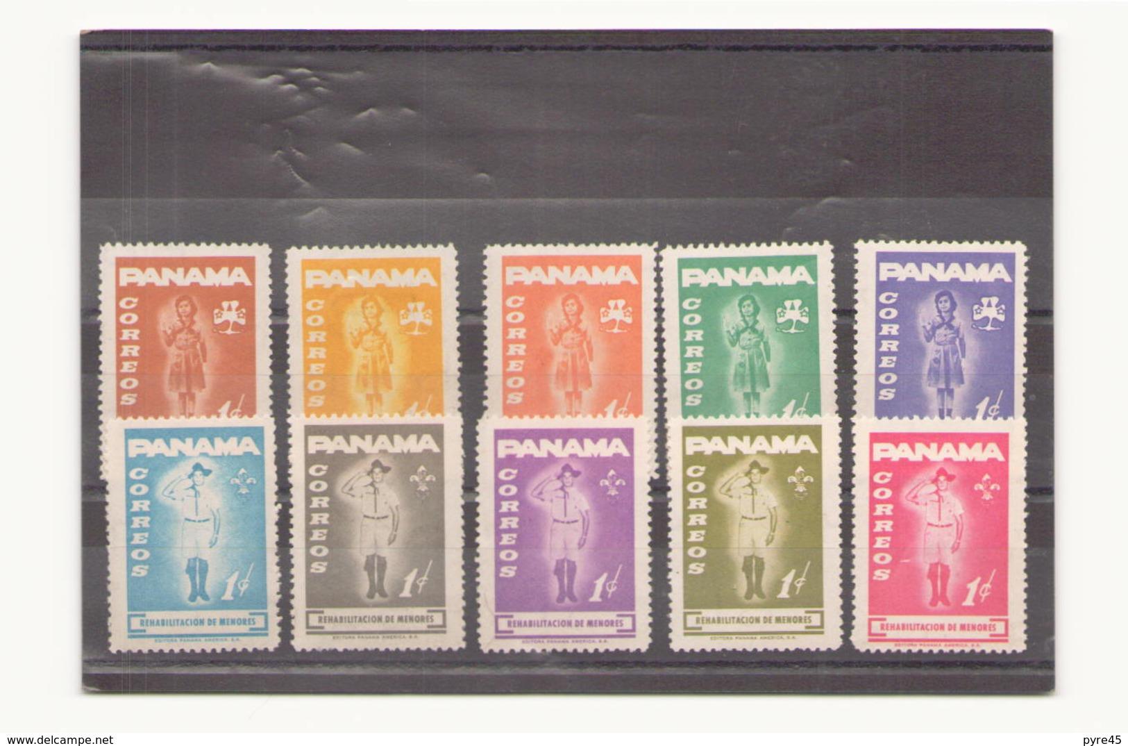 Panama 1964, N° 379 / 388 * - Panama