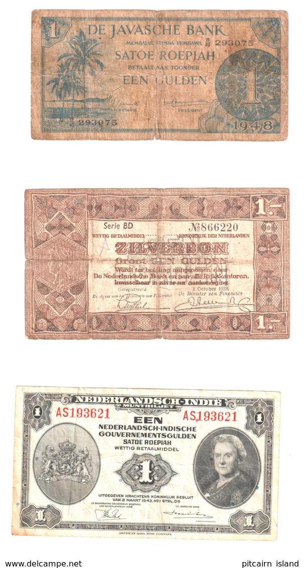 Nedeland, Nederlands Indie En Java Bank Oude Bankbiljetten - Nederland