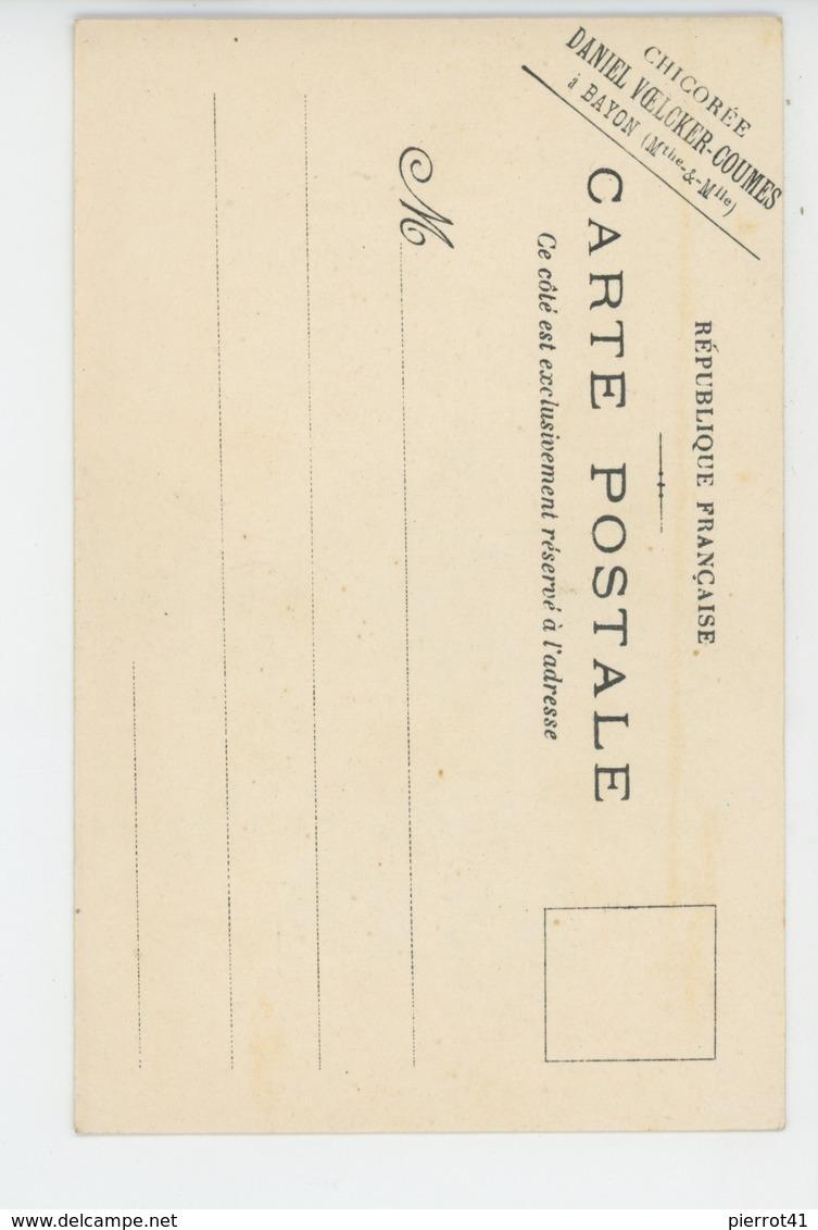 PUBLICITÉ - FLEURS - Muguet - Pub Pour CHICOREE VOELCKER COUMES à BAYON (MEURTHE ET MOSELLE ) - Publicité