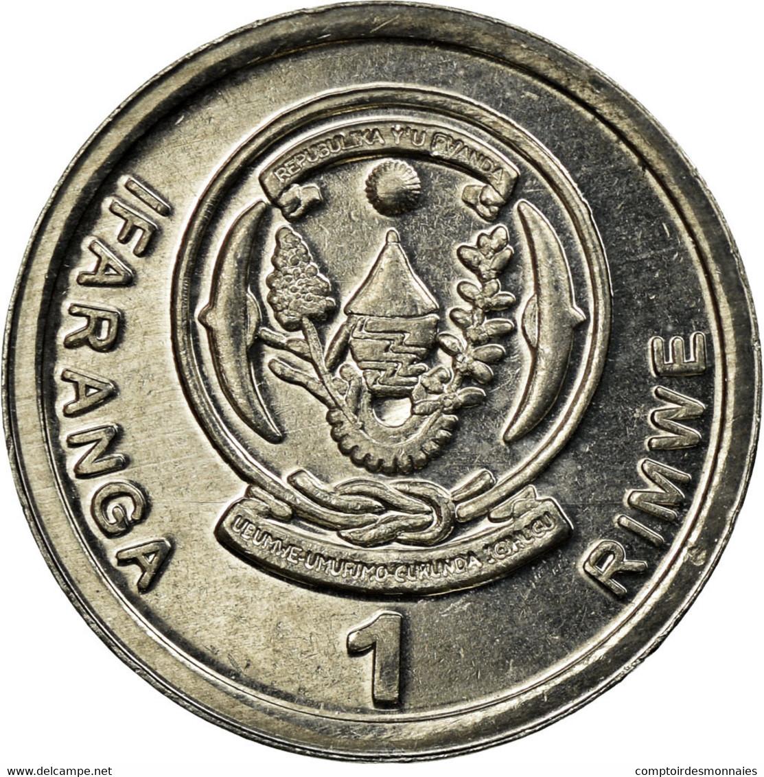 Monnaie, Rwanda, Franc, 2003, TTB, Aluminium, KM:22 - Rwanda
