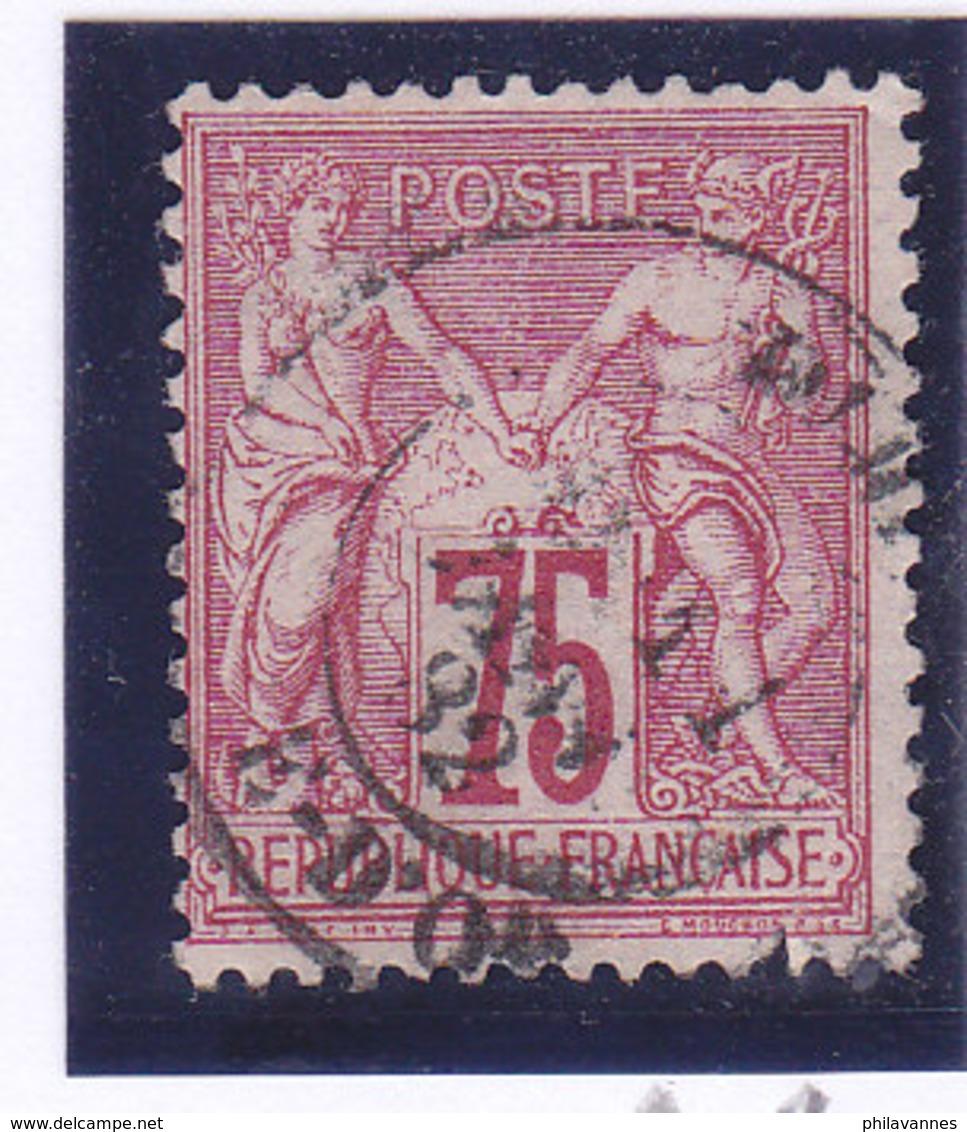 France, Sage Type 1 ,  N°71, Oblitération Dijon,1882  ( 1901/031) - 1876-1878 Sage (Type I)