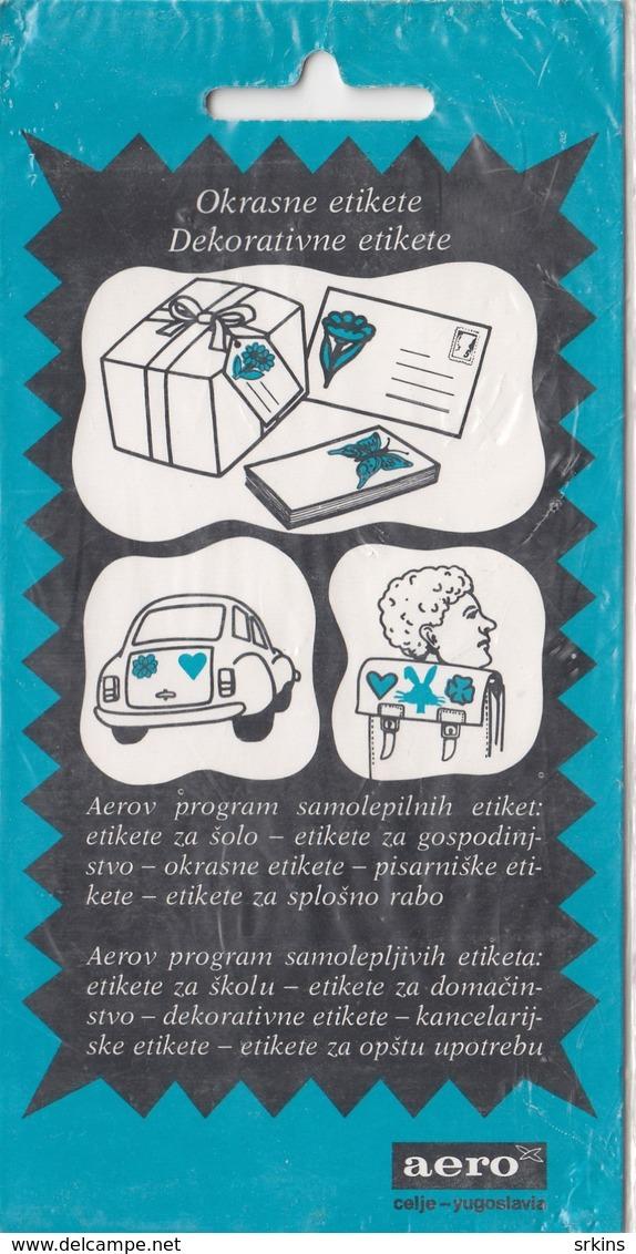 Self Label Sticker VUCKO Souvenire Winter Olympic Games Sarajevo 1984 84 Bosnia Yugoslavia Prod. Aero Celje Slovenia - Apparel, Souvenirs & Other