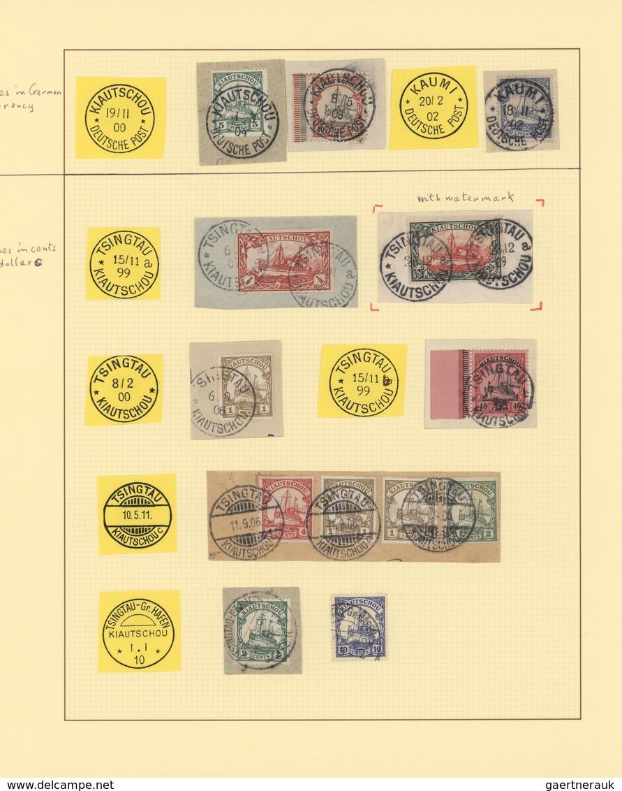 Deutsche Kolonien - Kiautschou: 1899/1914, Gestempelte Sammlung Ab Vorläufer-Ausgaben Mit Einigen Be - Colony: Kiauchau