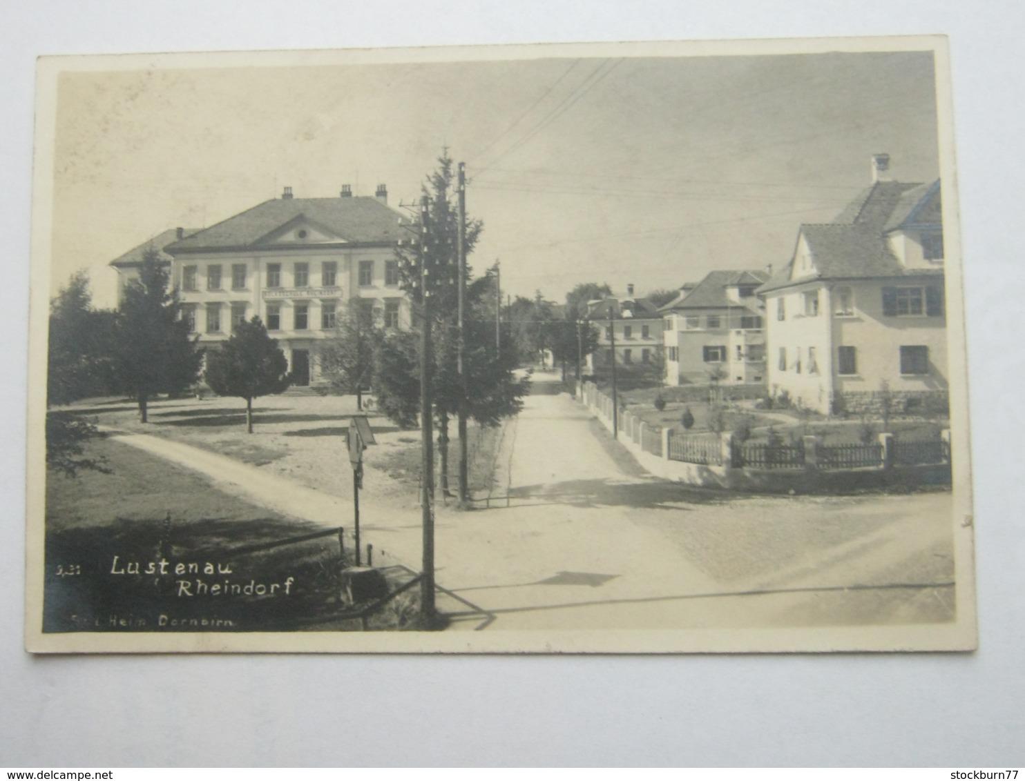 LUSTENAU  , Schöne Karte   , 1926 - Lustenau