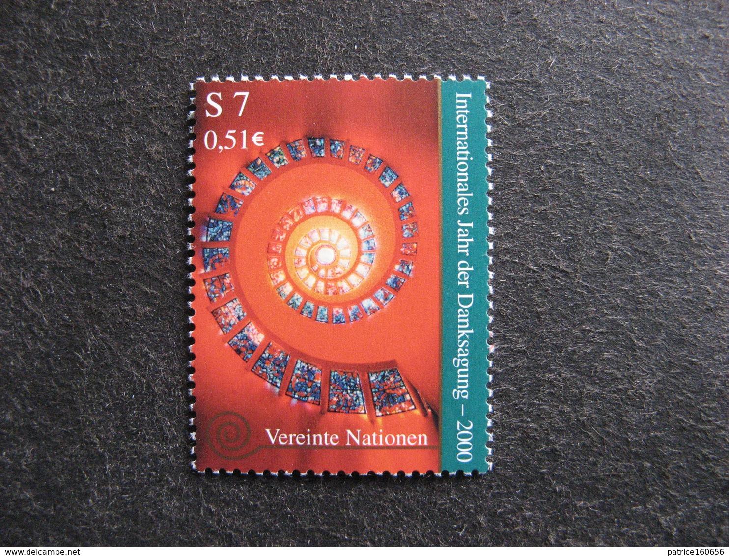 O.N.U.  C.I. De Vienne: TB N°318, Neuf XX. - Wien - Internationales Zentrum
